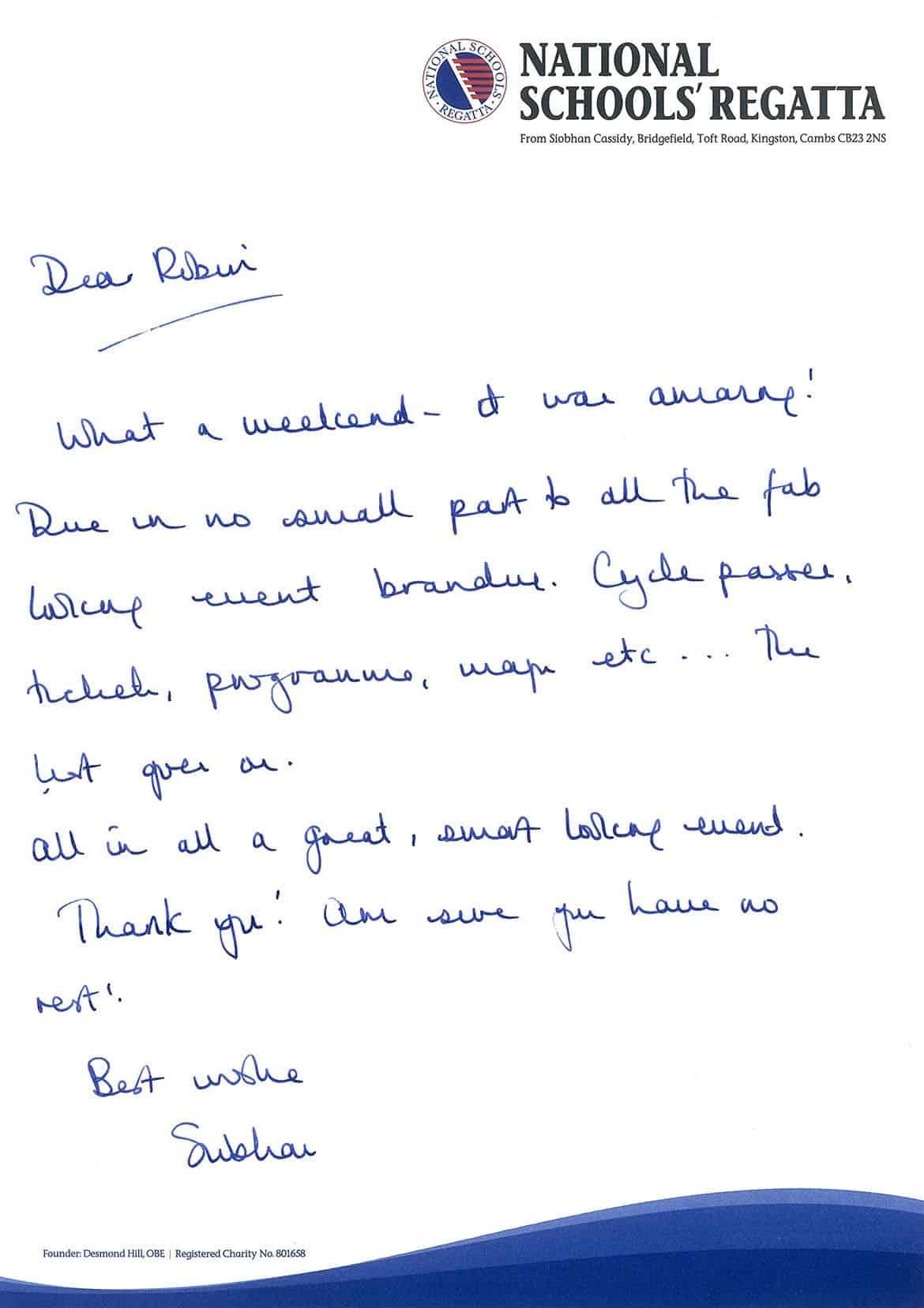 NSR Letter